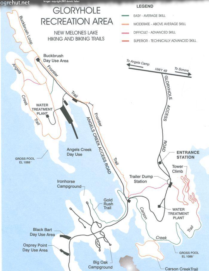 Glory hole map