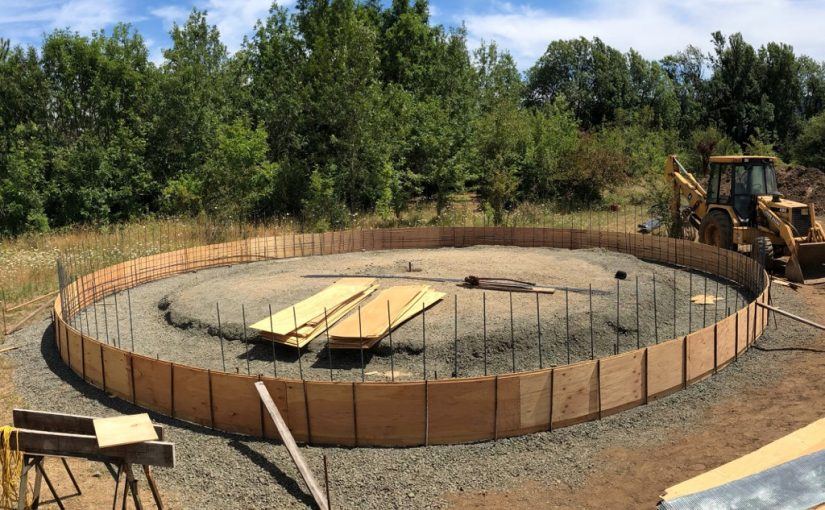 Home Building Update: The UFO Landing Pad